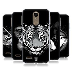 HEAD CASE DESIGNS BIG FACE ILLUSTRATED 2 GEL CASE & WALLPAPER FOR LG PHONES 1