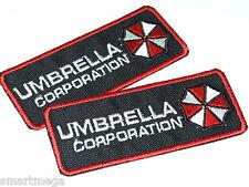 Resident Il male Ombrello Corporation Toppa Sacco di 2 Ricamato Da Stirare Patch