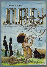 Journey #10 1984 Adventures of Wolverine MacAlistaire Aardvark-Vanaheim F
