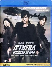 "Jung Woo Sung ""Athena: Goddess Of War"" Korea Movie Action Region A Blu-Ray"
