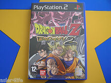 DRAGONBALL Z BUDOKAI 2 - PLAYSTATION 2 - PS2