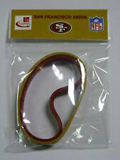 San Francisco 49ers 2 Rubber Wristbands New