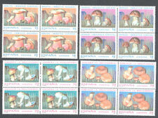 1994 MICOLOGIA BOLETO HONGO AMANITA NISCALO EDIFIL 3279/82 ** MNH B4     TC12261