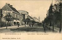 AK Schönebeck (Elbe) Salzer-Strasse, Blick auf den Salzthurm neu-18/04