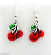 Red Cherry I Red Cherries Earrings
