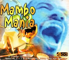 Mambo Mania by Various Artists (1999, CD, 4-Disc Set)
