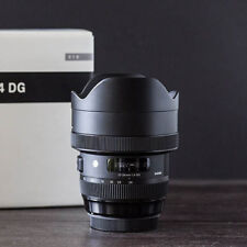 New Sigma 12-24mm F4 DG HSM for Canon EF Mount Lens 1 Year Au Wty