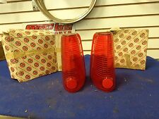 1961,1962,1963,1964 Lincoln Tail Light Lenses, pair,  - C1VB 13450 B