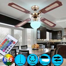 6 Watt RGB LED couleur ventilateur plafonnier changer dimmable refroidisseur