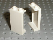 2 x LEGO White Panels 87544 / set 10214 4997 41100 10231 41067 41109 7679 41095