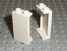 2 x LEGO White Panels 87544 / set 10214 4997 41100 10231 41067 41109 7679 41095