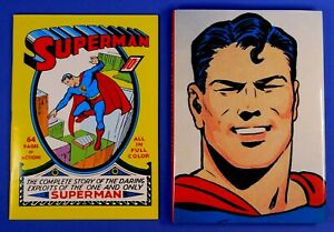 SUPERMAN #1 1999 REPRINT WITH GOLDEN AGE HC FROM MASTERPIECE EDITION DC