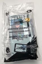McDonald's Happy Meal Toy 2018 JUSTICE LEAGUE #6 - Contact Cards Case NEW Sealed