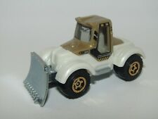 Matchbox Superfast 2005 Tractor Plough White & Gold Mint Unboxed