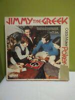 1974 Jimmy The Greek Odds Maker Poker-Dice Board Game Aurora