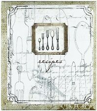 C.R. Gibson Pocket Page Recipe Book with Recipe Cards, 4 by 6-Inch, Perfect Sett