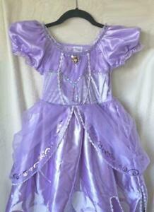 Disney Store Princess Sofia The First Costume Dress Sophia Girls Junior Toddler