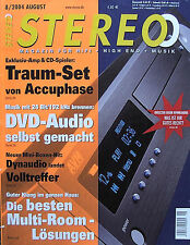 8/04 STEREO DYNAUDIO audience 52 se, manger zerobox 109, accuphase e-308, BOSE