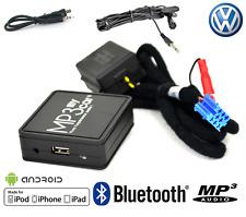 BOÎTIER BLUETOOTH AUXILIAIRE MP3 POUR AUTORADIOS D'ORIGINE VOLKSWAGEN 8 PIN