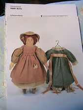 OLD FASHIONED RUTH~Roxanne Becker WHIMSICAL cloth art doll pattern *RARE & OOP