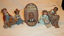 Lot of 3 Sarah'S Attic Figurines Saturday Night/Love starts/Martin Luther King