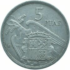 COIN / SPAIN / 5 PESETAS 1957 '78    #WT17272