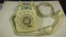 Vintage Monophone Automatic Electric Rotary Desk Phone Ivory original condition!