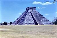 Chichen Itza Mexico Ruins 35mm Picture Slides 1970's Lot Pictures Vintage Photo