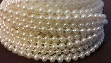 New White Spool of Pearls for baby shower /wedding decoration (24 yard long )