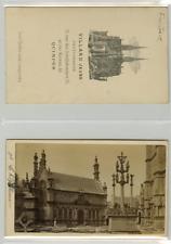 Villard Jeune, France, Quimper Saint-Thégonnec CDV vintage albumen carte de visi