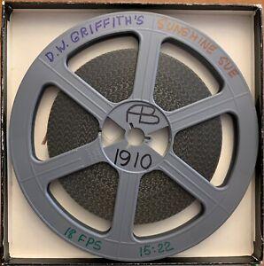 SUNSHINE SUE (1910) - D W Griffith Super 8mm B&W Silent Blackhawk Print Biograph