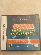Personal Fitness for Men (Nintendo DS, 2010) DS NEW