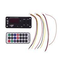 12V Car Tf Card Fm Radio Mp3 Audio Module Bluetooth Decoder Board for Car RH7Y2