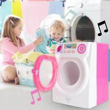 Mini Pretend Play Kids Toys Small Appliances Electric Washing Machine Gift