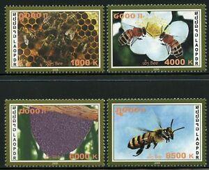 Laos 1747-1750, MNH. Honey Bees Insect 2008,.x33950