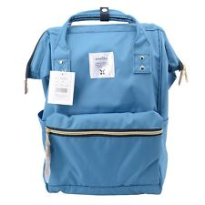 Sea Blue Anello Japan Unisex Fashion Backpack Rucksack Diaper Travel Bag