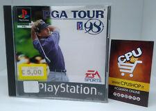 PlayStation 1 - PGA TOUR GOLF 98 by EA Sport - Buone Condizioni - Testato