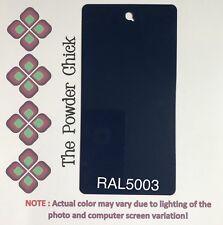 RAL 5003 49/42230 Sapphire Blue Powder Coating Paint 5lb Bag NEW