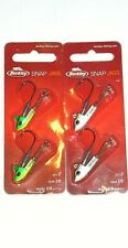 Berkley 1/4 & 3/8 Snap Jigs (Lot of 2-Firetiger/White Bl-2/pk)