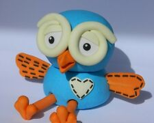 1 edible 3D HOOT OWL cake CUPCAKE topper DECORATION GIGGLE kids tv show LARGE