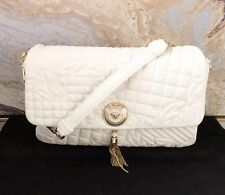 d436dfc531ad Versace Nappa Barocco Quilted Vanitas Shoulder Bag