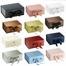 Gift Box, High Quality Rigid Thick Gift Box, Gift Box With Ribbon, Magnetic Box