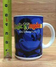 DISNEY COFFEE TEA MUG CUP MICKEY MOUSE WALT HAND IN HAND MAGIC KINGDOM