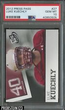 2012 Press Pass #27 Luke Kuechly PSA 10 GEM MT POP 2