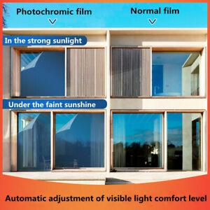 Thermal insulation Photochromic Film Self Adhesive Window Sticker Car Building
