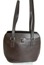 Nina Ricci  Genuine Leather Brown  Shoulder Bag