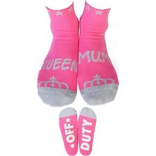 QUEEN MUM Feet Speak Socks