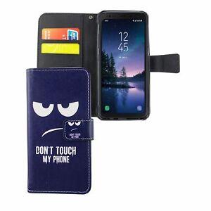 Funda para Móvil Samsung Galaxy S8 Active Bolsa de Protección 360 Carcasa Azul