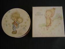 2 1970s Betsey Clark Springbok Mini Jigsaw Puzzles, Hello Sunshine & Boy w/ Baby