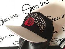 Mitchell & Ness NHL Chicago Blackhawks Vintage Snapback Hat Grey Black Red